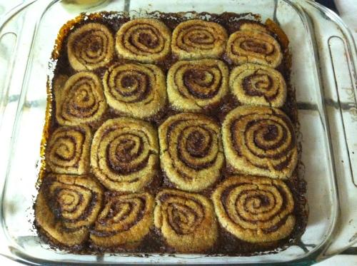 Cinnamon rolls 131