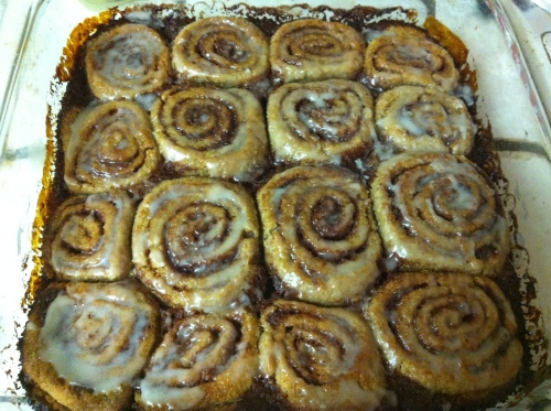 Cinnamon rolls 137